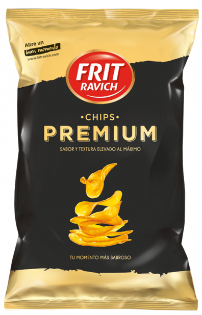 Bolsa de patatas Chips Premium Frit Ravich