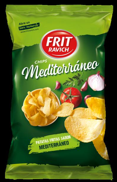 Bolsa de patatas Chips Estilo Mediterráneo de Frit Ravich