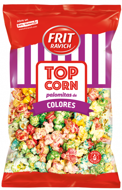 Palomitas de colores Top Corn Frit Ravich