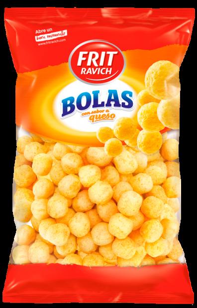 Bolsa de snacks Bolas queso de Frit Ravich