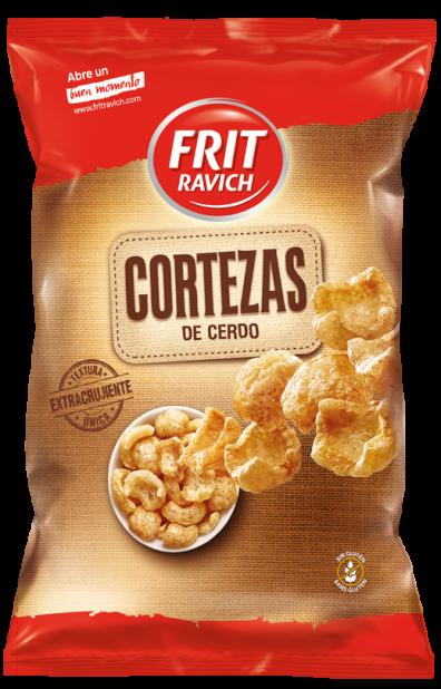 Bolsa de snacks cortezas de cerdo de Frit Ravich