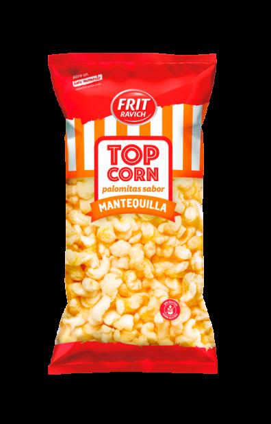 Bolsa de Palomitas de mantequilla Top Corn línea joven de Frit Ravich