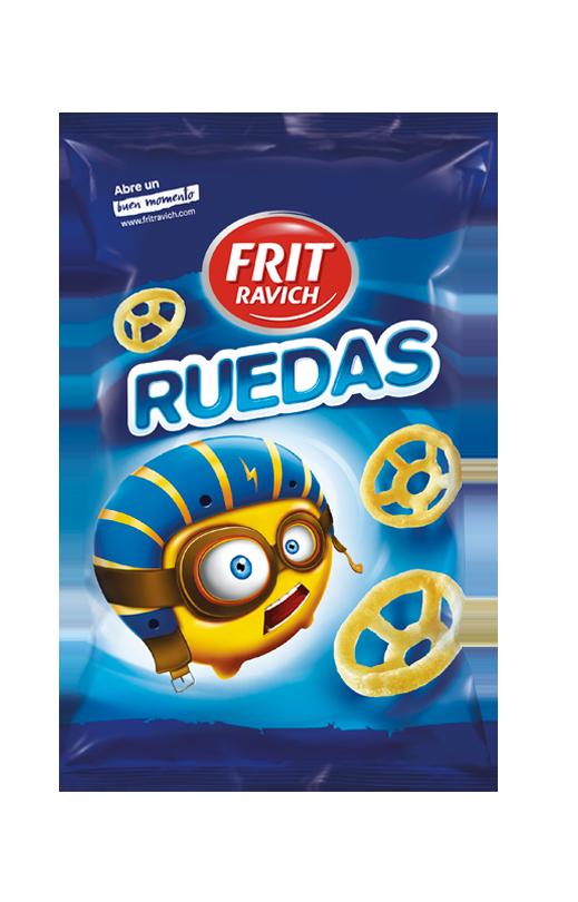 Bolsa de snacks ruedas línea joven Frit Ravich