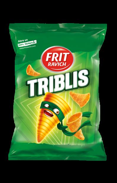 Bolsa de snacks Triblis Línea Joven de Frit Ravich