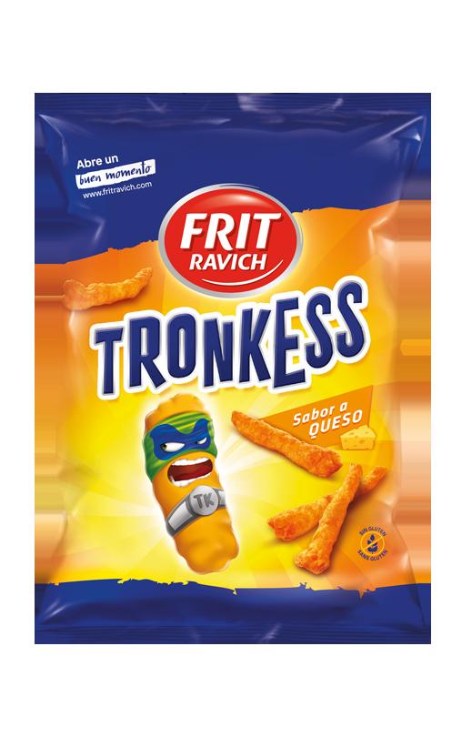 Bolsa de snacks Tronkess Línea Joven de Frit Ravich