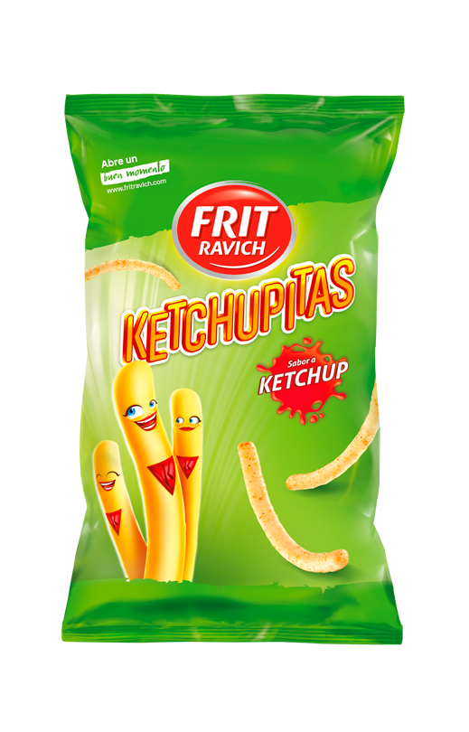 Bolsa de snacks Ketchupitas Línea Joven Frit Ravich