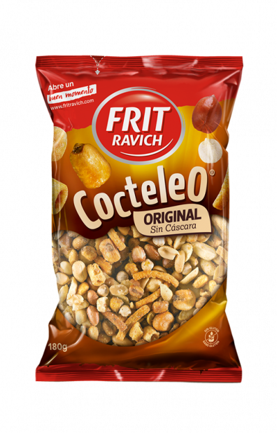 Bolsa de Cocteleo Original Sin Cáscara Frit Ravich