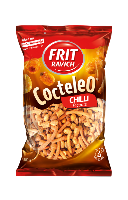 Bolsa de frutos secos Cocteleo Chilli Picante de Frit Ravich