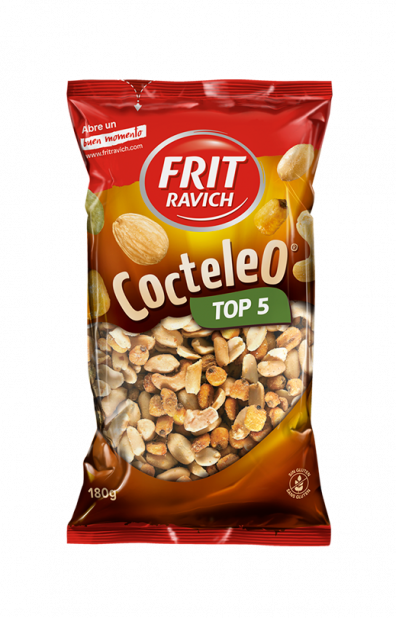 Bolsa de frutos secos Cocteleo Top 5 de Frit Ravich