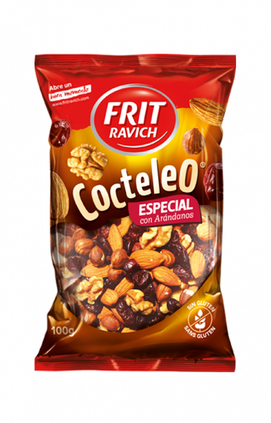 Bolsa de frutos secos Cocteleo Especial con Arándanos Frit Ravich