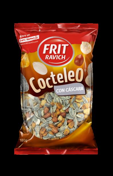 Bolsa de frutos secos Cocteleo con cáscara