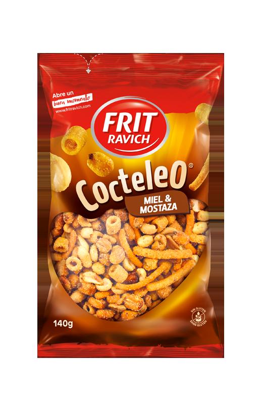 Bolsa de frutos secos Cocteleo Miel y Mostaza de Frit Ravich