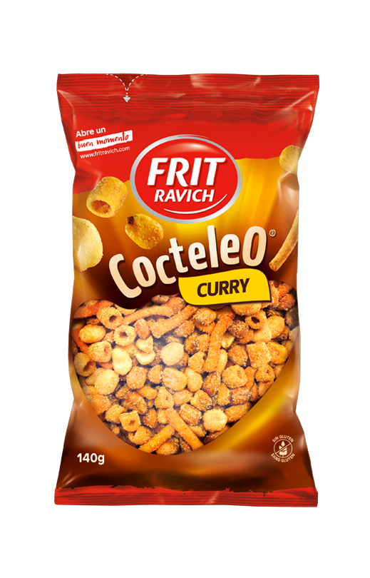 Bolsa de frutos secos Cocteleo Curry de Frit Ravich