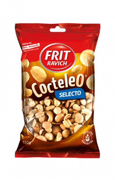 Bolsa de frutos secos Cocteleo Selecto de Frit Ravich