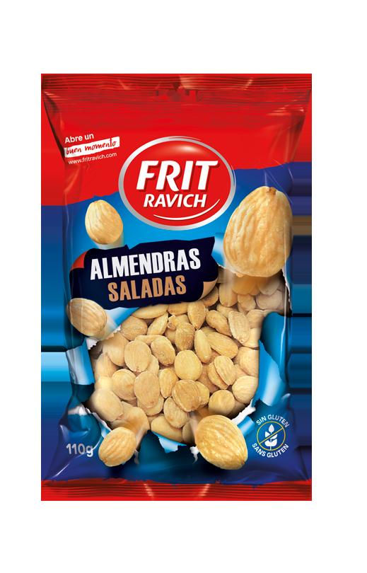 Bolsa de Almendra Marcona salada Frit Ravich