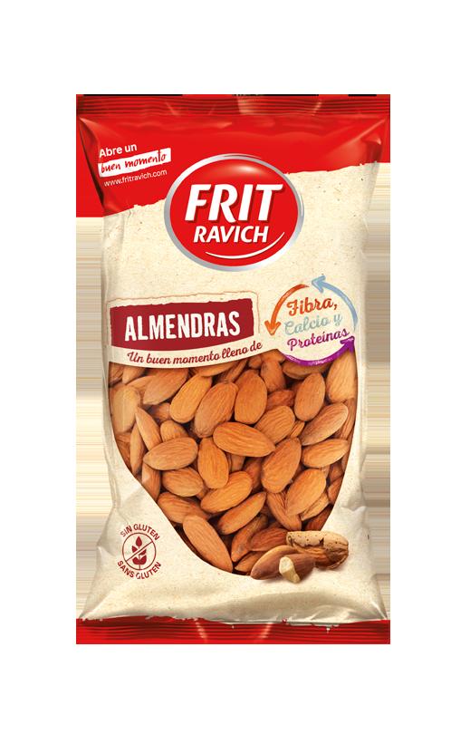 Bolsa de frutos secos almendras piel crudas Estilo Mediterráneo Frit Ravich