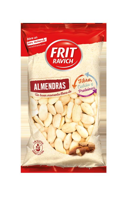 Bolsa de Almendras repeladas crudas Estilo Mediterráneo Frit Ravich
