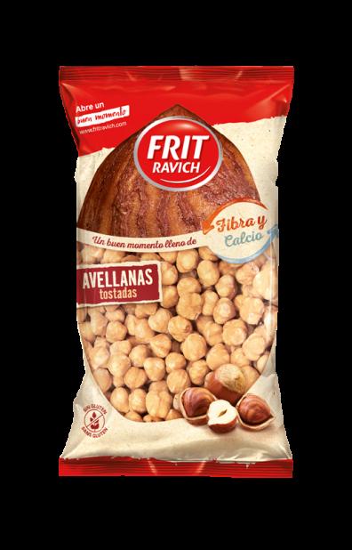 Bolsa de Avellanas sin cáscara tostadas Estilo Mediterráneo Frit Ravich