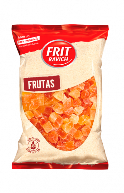 Bolsa de papaya deshidratada Frit Ravich