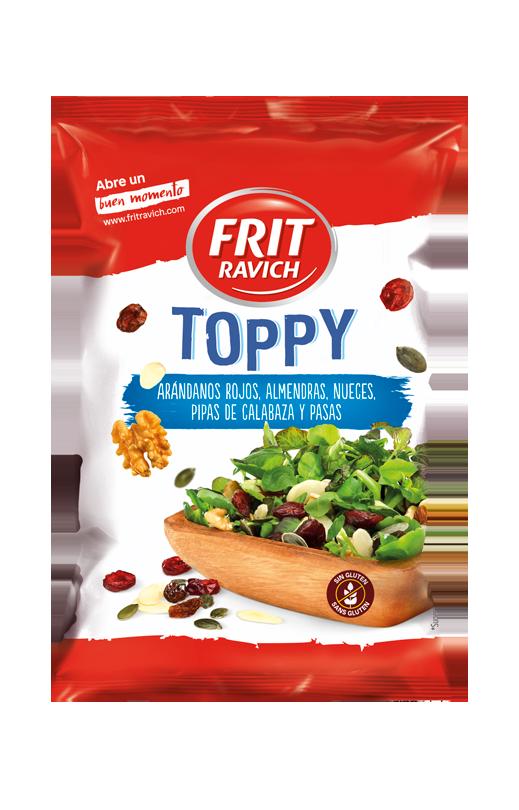 Bolsa de mix de frutos secos Toppy Arándanos rojos de Frit Ravich