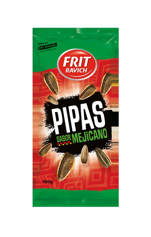 Bolsa de Pipas sabor mejicano Línea joven FRIT RAVICH