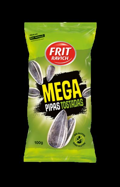 Bolsa de Mega pipas tostadas Línea joven FRIT RAVICH