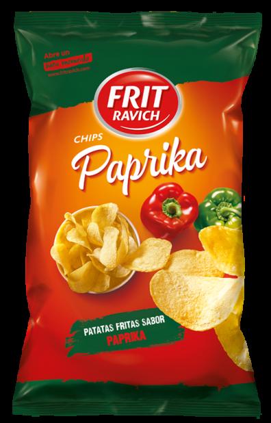 Bolsa de patatas Chips Paprika de Frit Ravich