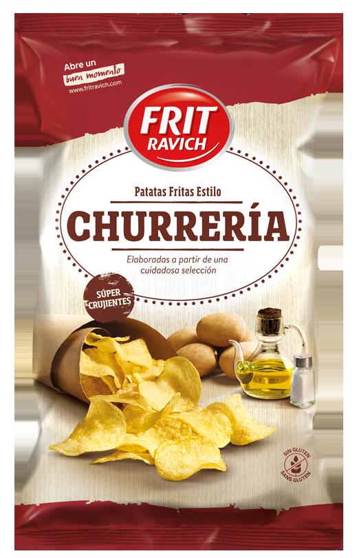 Bolsa de Patatas Churrería Frit Ravich