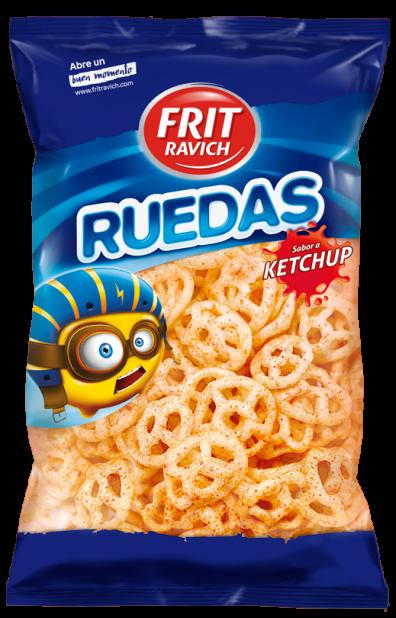 Ruedas Ketchup Frit Ravich