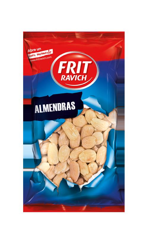 Bolsa de Almendras fritas y saladas Frit Ravich