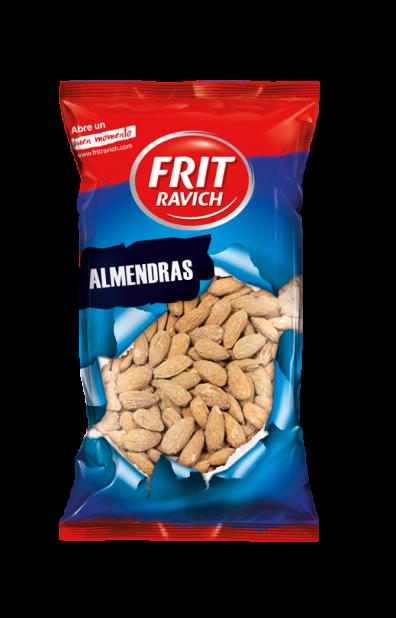 Bolsa de Almendras con piel tostadas y saladas Frit Ravich