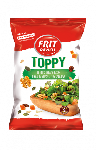 Bolsa de mix de frutos secos Toppy de Frit Ravich