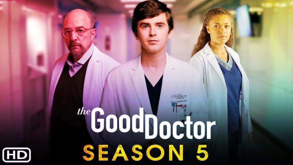 Portada The Good Soctor, temporada 5